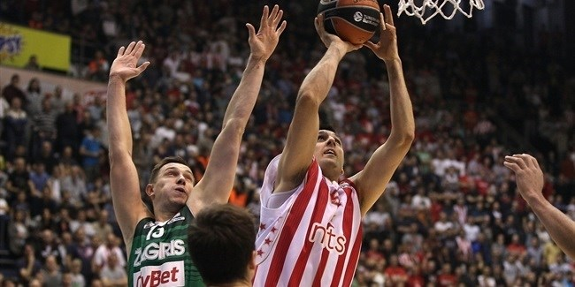 Regular Season, Round 10: Crvena Zvezda mts Belgrade vs. Zalgiris Kaunas