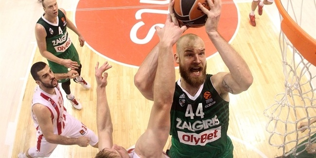 Regular Season Round 10: Zalgiris Kaunas stops Zvezda for its first road win