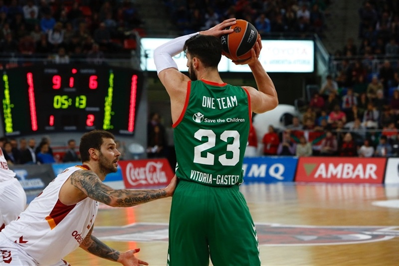 One Team Week - Tornike Shengelia - Baskonia Vitoria Gasteiz vs. Galatasaray Odeabank Istanbul