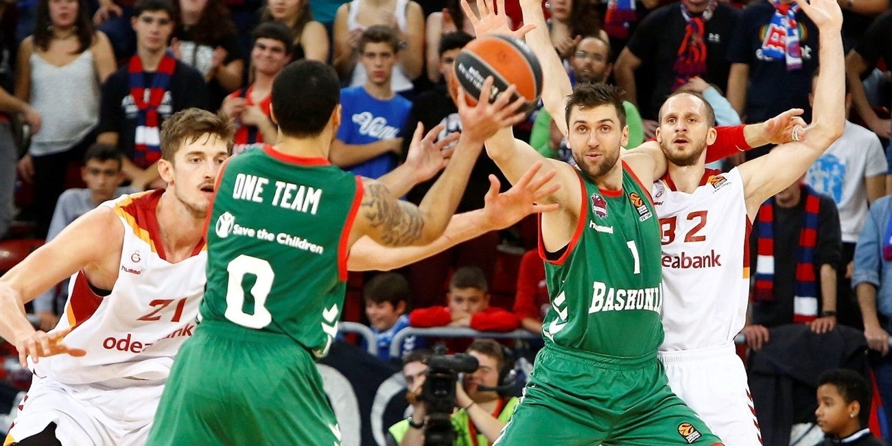 Regular Season Round 10: Baskonia fights off Galatasaray for sixth win