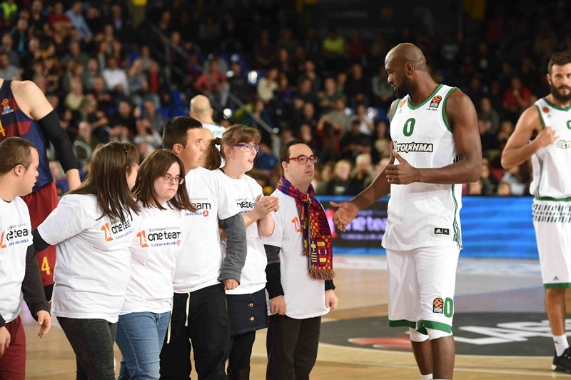 One Team Week - Chris Singleton - FC Barcelona Lassa vs. Panathinaikos Superfoods Athens - EB16
