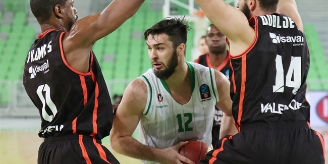 Regular Season, Round 9: Union Olimpija Ljubljana vs. Valencia Basket