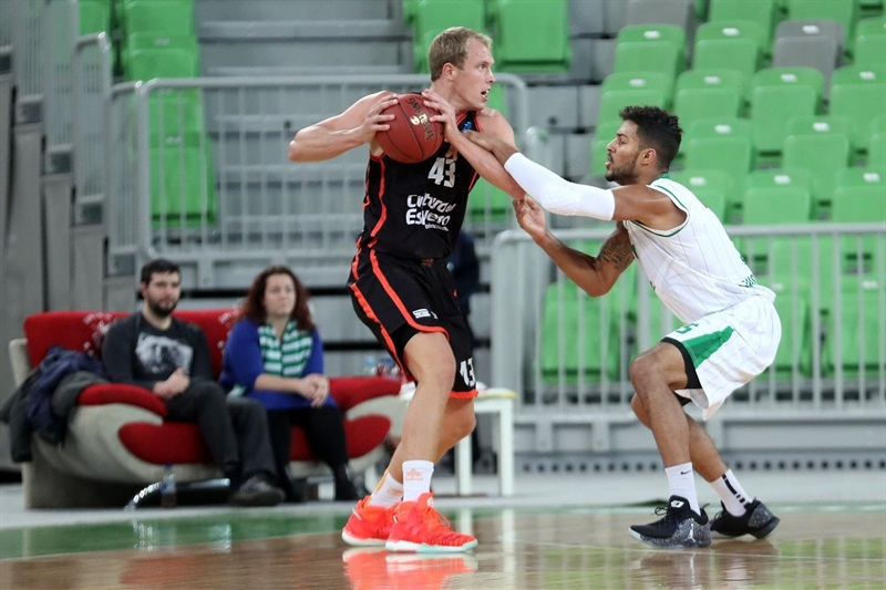 Luke Sikma - Valencia Basket - EC16 (photo Union Olimpija)