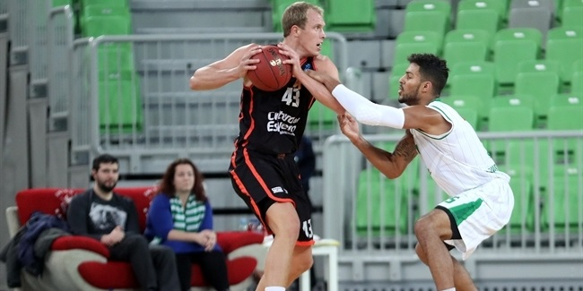 Regular Season, Round 9 report: Valencia edges Olimpija to finish first in Group D