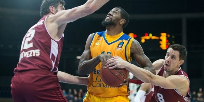 Regular Season, Round 9: Lietkabelis Panevezys vs. Gran Canaria
