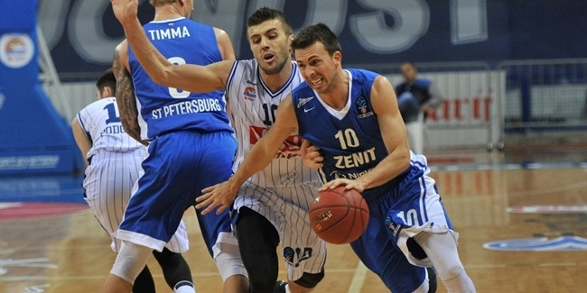 Regular Season, Round 9: Buducnost VOLI Podgorica vs. Zenit St Petersburg