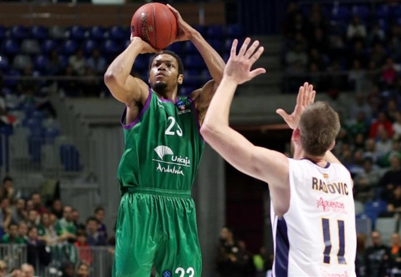 Jeff Brooks - Unicaja Malaga - EC16 (photo Unicaja)