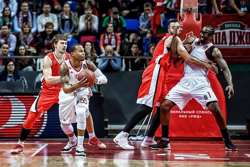 Curtis Jerrells - Hapoel Bank Yahav Jerusalem - EC16 (photo Lokomotiv)