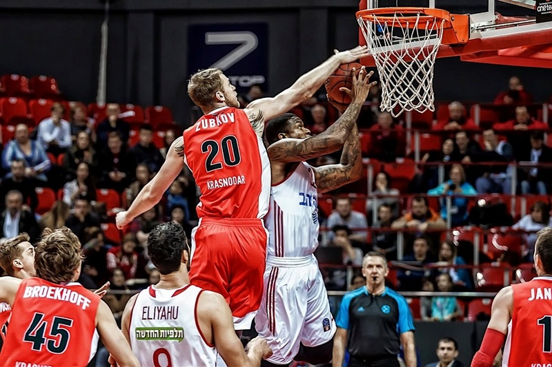 Shawn Jones - Hapoel Bank Yahav Jerusalem - EC16 (photo Lokomotiv)