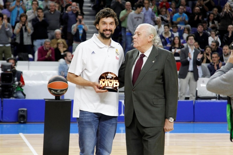Sergio llull - November 2016 MVP - Real Madrid - EB16
