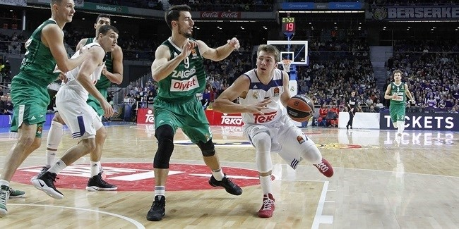 Regular Season, Round 11: Real Madrid vs. Zalgiris Kaunas