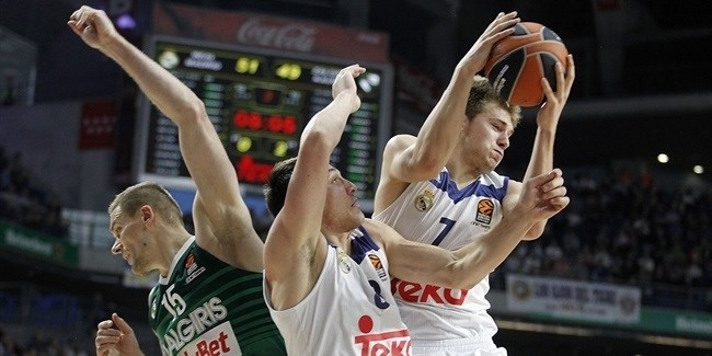 Regular Season Round 11: Doncic leads Madrid past Zalgiris at the finish!