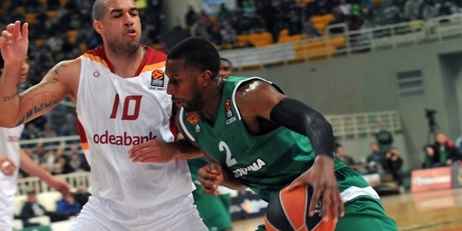Regular Season, Round 11: Panathinaikos Superfoods Athens vs. Galatasaray Odeabank Istanbul