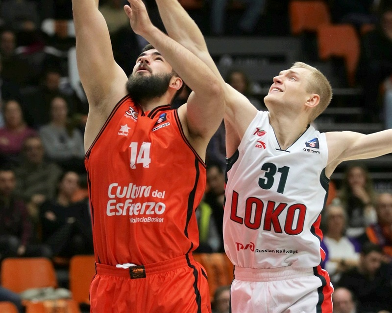 Bojan Dubljevic - Valencia Basket - EC16 (photo Valencia Basket - Miguel Angel Polo)