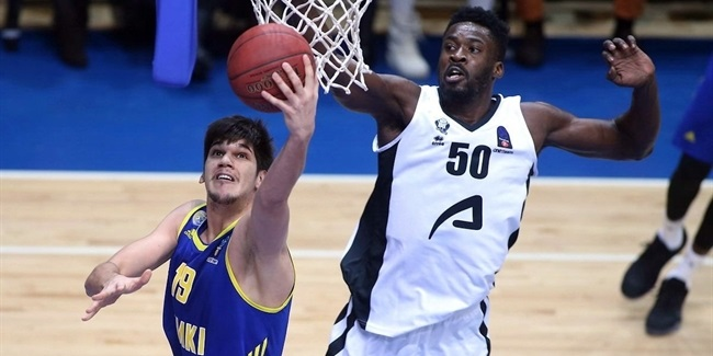 Regular Season, Round 10: Khimki Moscow Region vs. RETAbet Bilbao Basket