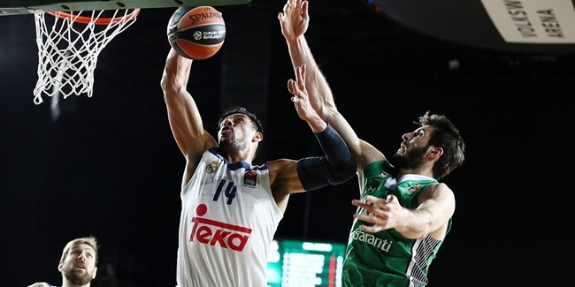 Regular Season, Round 12: Darussafaka Dogus Istanbul vs. Real Madrid