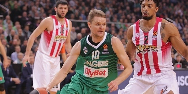 Regular Season, Round 12: Zalgiris Kaunas vs. Olympiacos Piraeus