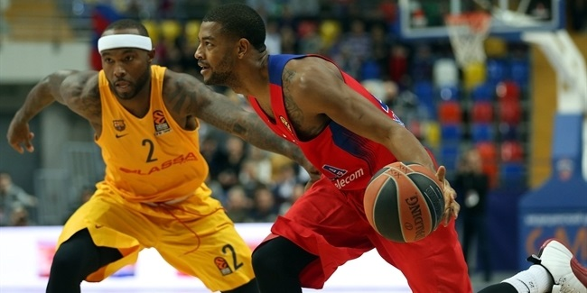 Regular Season, Round 12: CSKA Moscow vs. FC Barcelona Lassa