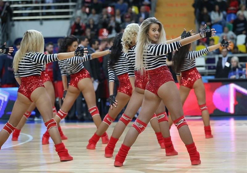 Cheerleaders - CSKA Moscow - EB16