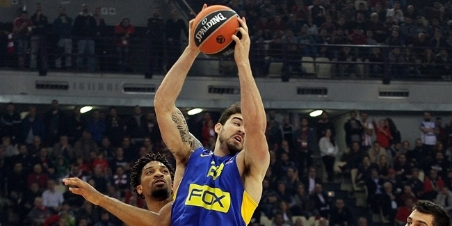 Maccabi forward Alexander to miss several weeks