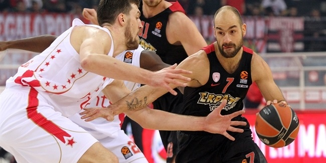 Regular Season, Round 13: Olympiacos Piraeus vs. Crvena Zvezda mts Belgrade