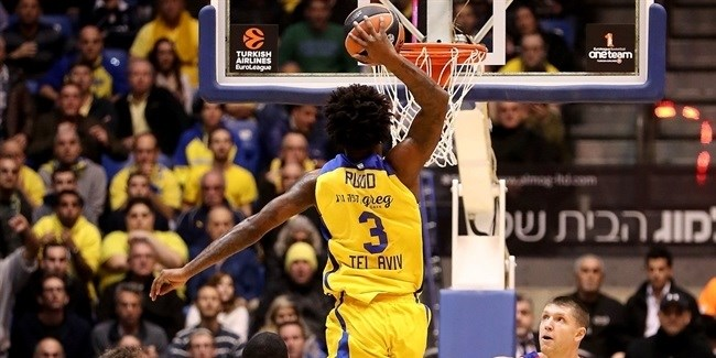 Regular Season, Round 13: Maccabi FOX Tel Aviv vs. CSKA Moscow