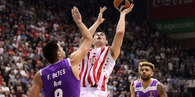 Regular Season, Round 14: Crvena Zvezda mts Belgrade vs. Real Madrid