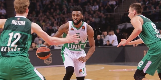 Regular Season, Round 14: Zalgiris Kaunas vs. Unics Kazan