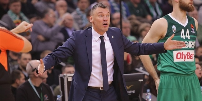 Zalgiris re-signs coach Jasikevicius