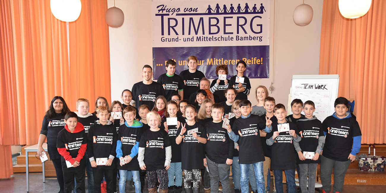 '#123TOGETHER' with One Team in Bamberg