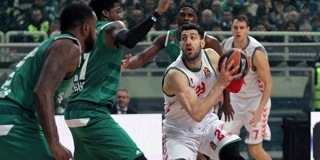 Regular Season, Round 14: Panathinaikos Superfoods Athens vs. Baskonia Vitoria Gasteiz