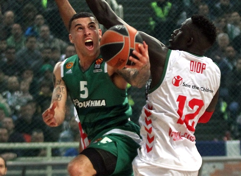 Mike James - Panathinaikos Superfoods Athens - EB16