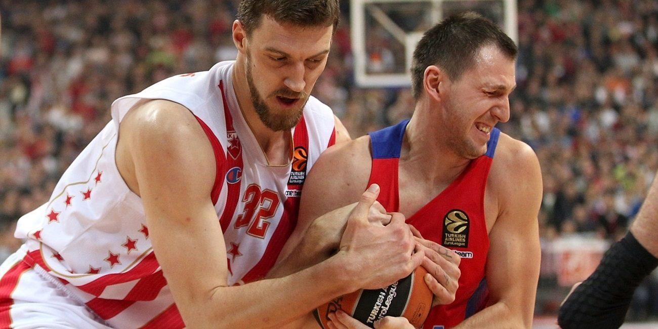 Regular Season Round 15: Crvena Zvezda leads from start to finish in routing CSKA