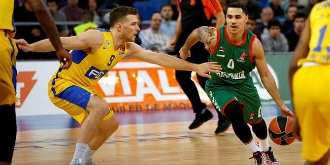 Regular Season, Round 15: Baskonia Vitoria Gasteiz vs. Maccabi FOX Tel Aviv