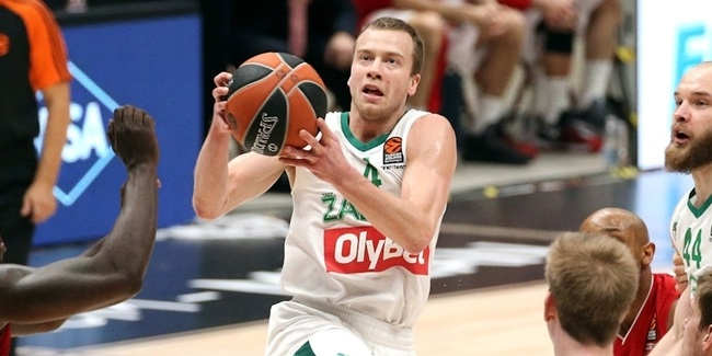 Panathinaikos picks up playmaker Lekavicius from Zalgiris