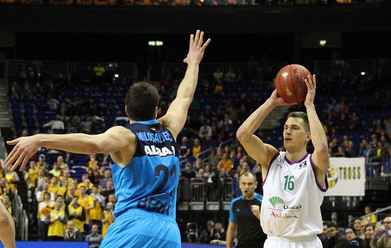 Nemanja Nedovic - Unicaja Malaga - EC16 (photo ALBA Berlin - Andreas Knopf)