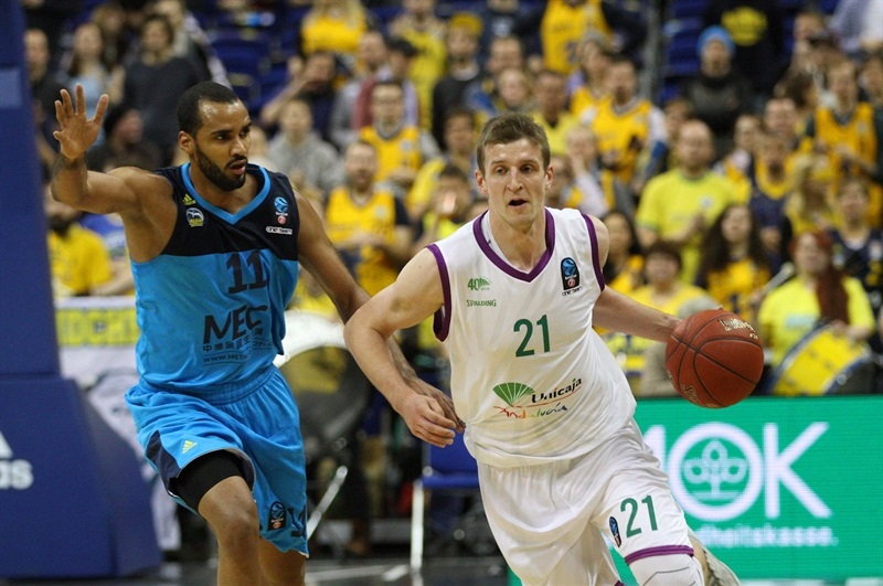 Adam Waczynski - Unicaja Malaga - EC16 (photo ALBA Berlin -  Jan Buchholz)