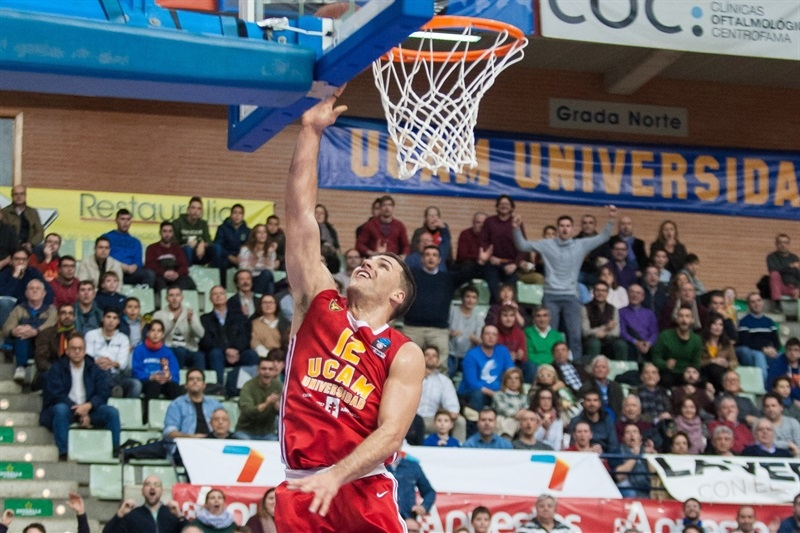 Billy Baron - UCAM Murcia - EC16 (photo imQuality - Javier Bernal)