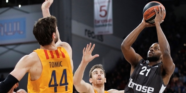 Regular Season, Round 16: Brose Bamberg vs. FC Barcelona Lassa