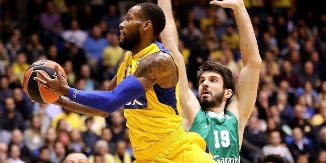 Regular Season Round 16 MVP: Sonny Weems, Maccabi FOX Tel Aviv