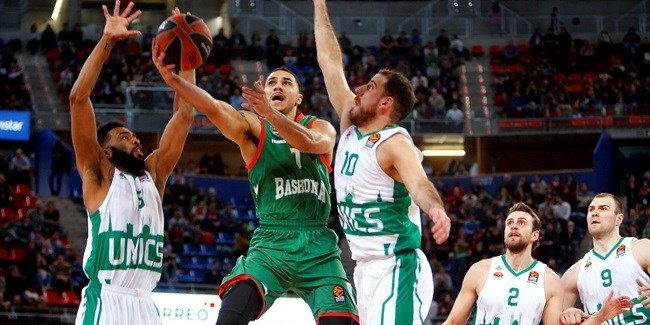 Regular Season, Round 16: Baskonia Vitoria Gasteiz vs. Unics Kazan