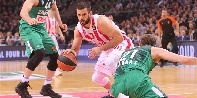 Regular Season, Round 16: Zalgiris Kaunas vs. Crvena Zvezda mts Belgrade