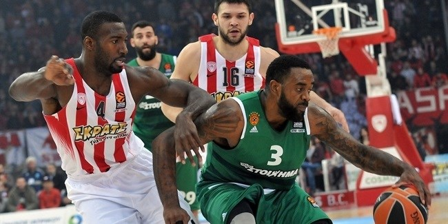 Regular Season, Round 16: Olympiacos Piraeus vs. Panathinaikos Superfoods Athens