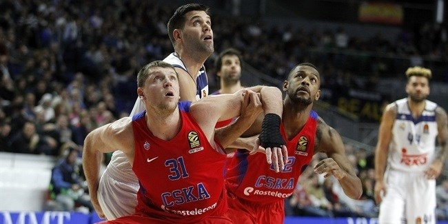Regular Season, Round 16: Real Madrid vs. CSKA Moscow