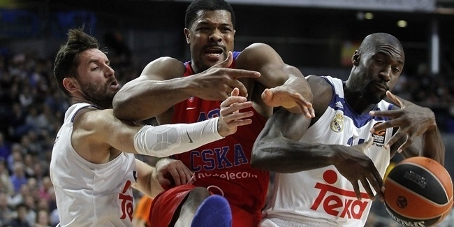 Regular Season Round 16: Madrid stops CSKA 98-85 to tighten race for first!