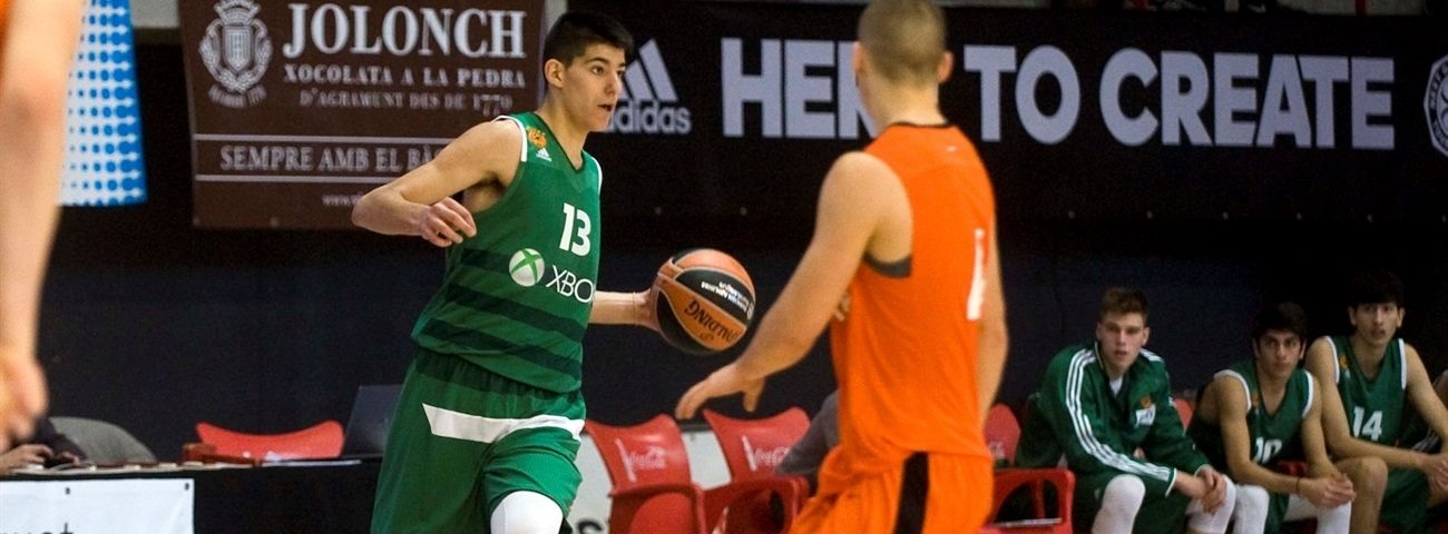 Kalaitzakis draws from battles in practice with idol Diamantidis