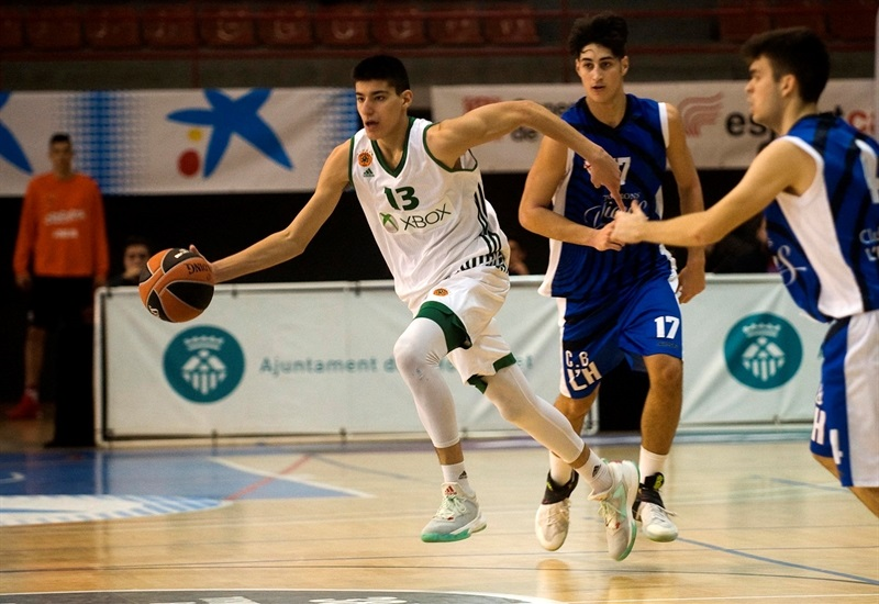 Georgios Kalaitzakis - U18 Panathinaikos Superfoods Athens - ANGT Hospitalet 2017 - JT16 (photo Paco Largo)