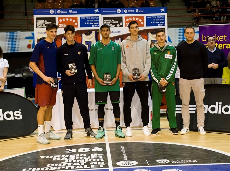 Best Five ANGT Hospitalet 2017 - JT16 (photo Paco Largo)