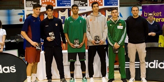 Martinez of U18 Barcelona named MVP in L'Hospitalet