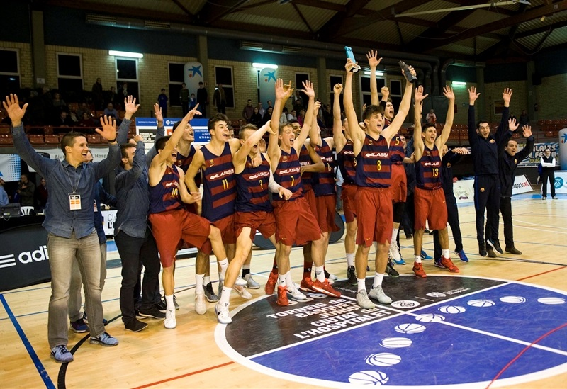 U18 FC Barcelona Lassa champ - ANGT Hospitalet 2017 - JT16 (photo Paco Largo)